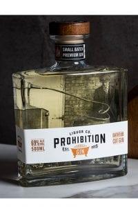 Prohibition Liquor Co Bathtub Cut Gin