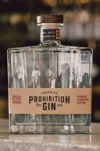 Prohibition Liquor Co Original Gin