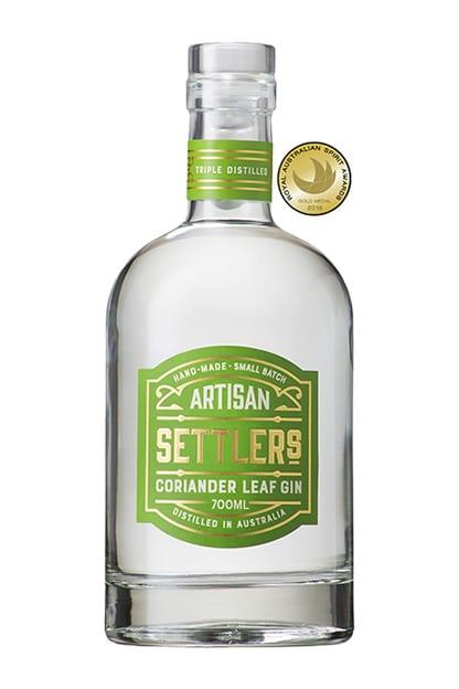 Settlers Artisan Spirits Coriander Gin